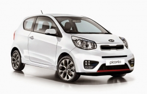 Kia Piccanto new arrival 2017 @ Santorini car rental