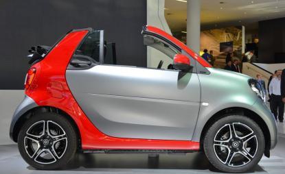 Smart Cabrio Passion
